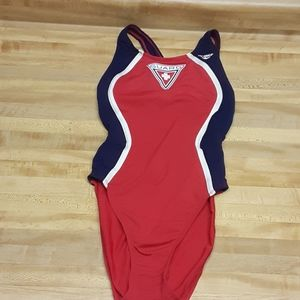 THE FINALS Red, White and Blue One Piece Swimsuit